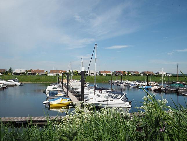 Jachthaven bij Riverparc